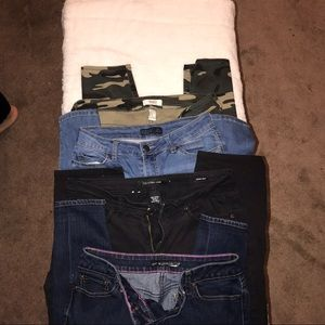 4 jeans bundle size 7/8